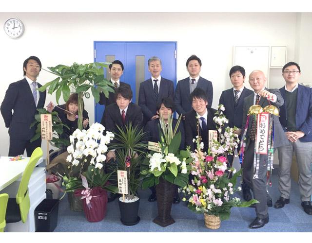 Happy Birthday★ ミナミ営業所!